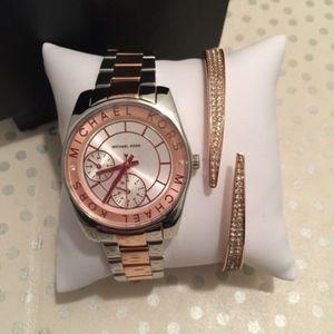 MK Watch And Bracelt